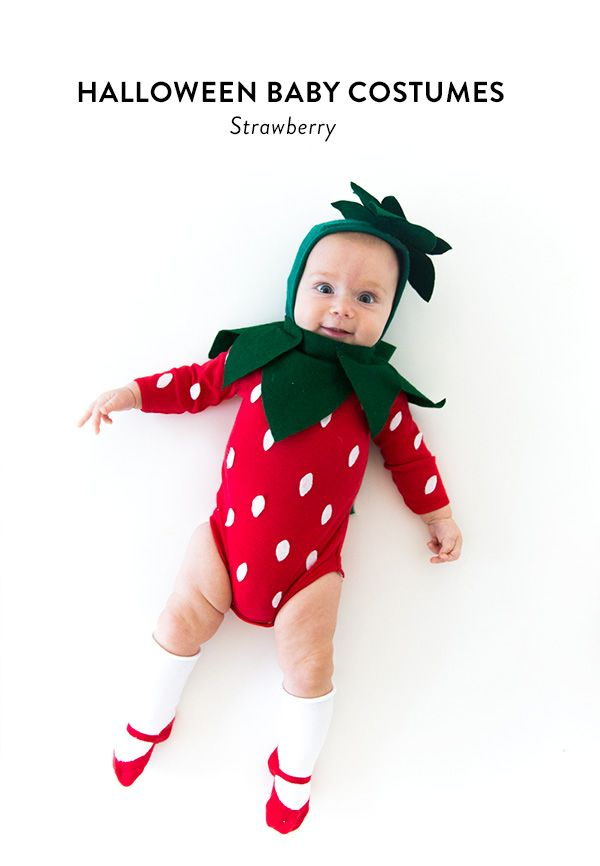 Strawberry Baby Halloween Costume (Say Yes) Baby halloween - baby halloween costumes ideas