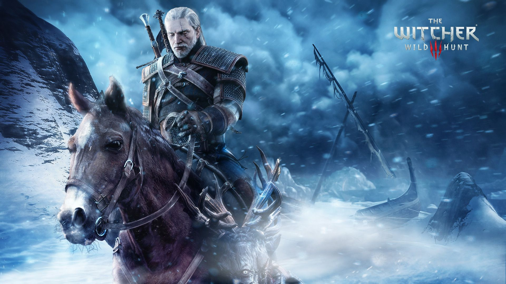 Wallpaper The Witcher 3 Blizzard Gerald Roach 1920x1080 In