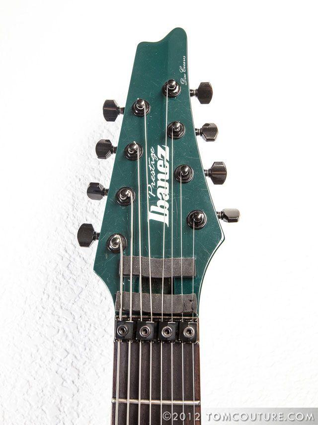 Dino Cazares La Custom Shop Ibanez Rga 8 String Guitcan Never Go