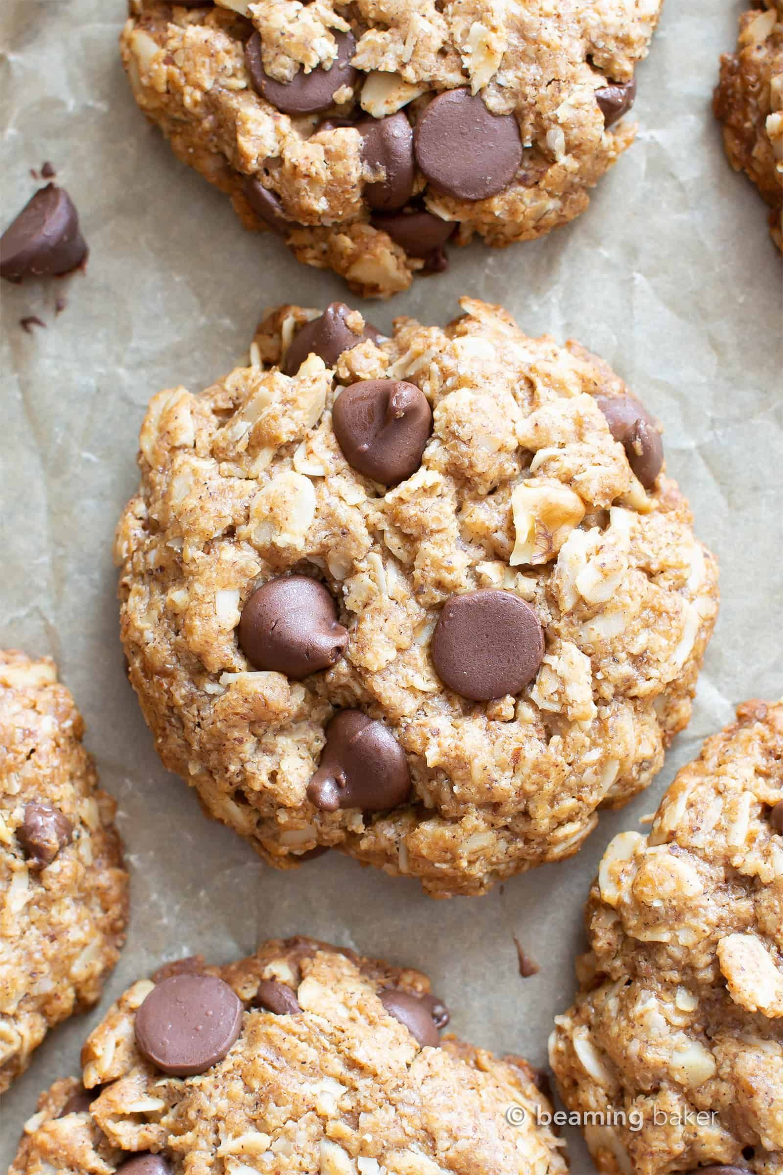 My Favorite Vegan Oatmeal Chocolate Chip Cookies Gluten In