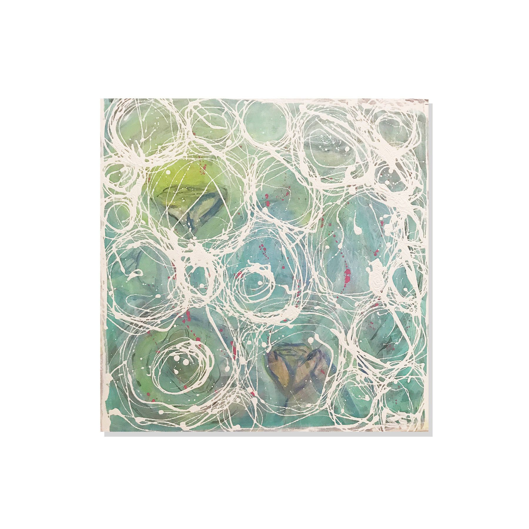 Wall art decor large abstract painting mixed media also rh pinterest