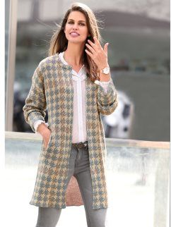 Abrigos mujer tricot