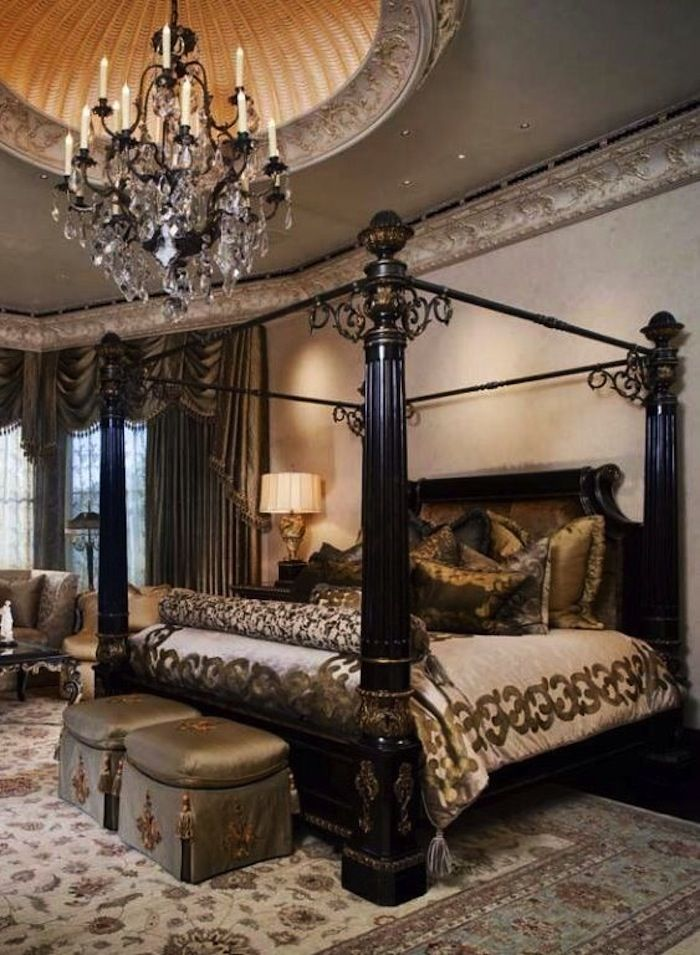 Inviting Old World Style Bedrooms Artisan Crafted Iron