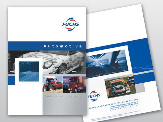 FUCHS: 24 Page Corporate Catalogue | Publication Design ...