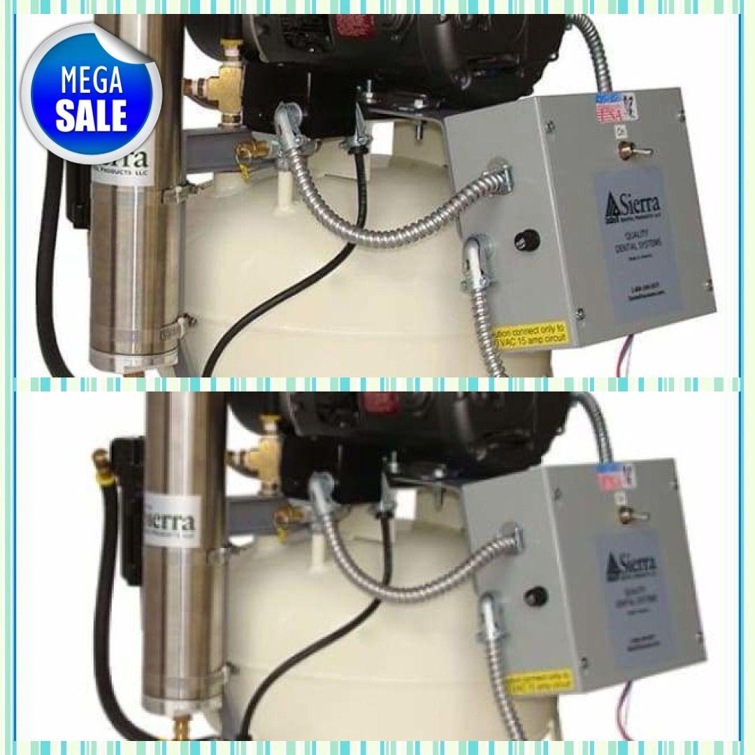 Sierra Dental OilLess Direct Drive Air CompressorEGL6VX