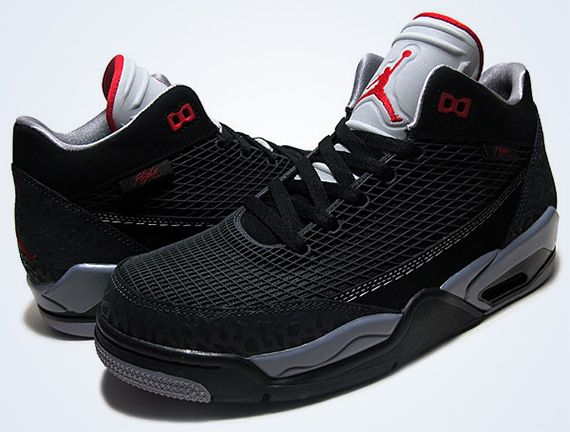 quality design aa479 a86fc Jordan Flight Club 80s- Black, Gym Red, and Anthracite