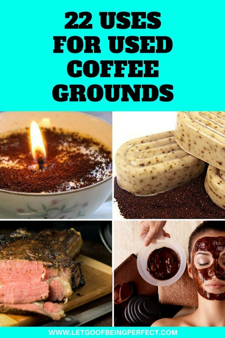 22 Uses for Used Coffee Grounds
