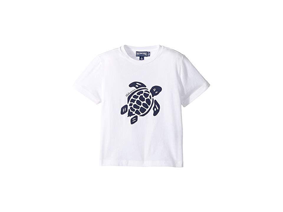 c395b8f0026 Vilebrequin Kids Turtle Print Tee (Toddler Little Kids Big Kids) (White