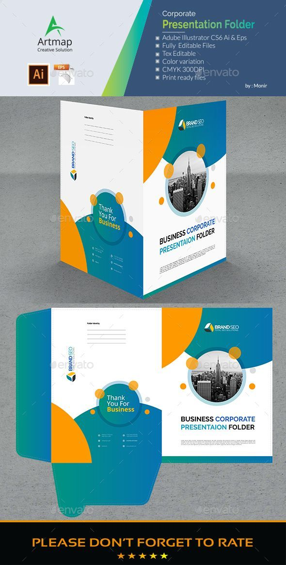 Bi-Fold Brochure Template Free from i.pinimg.com