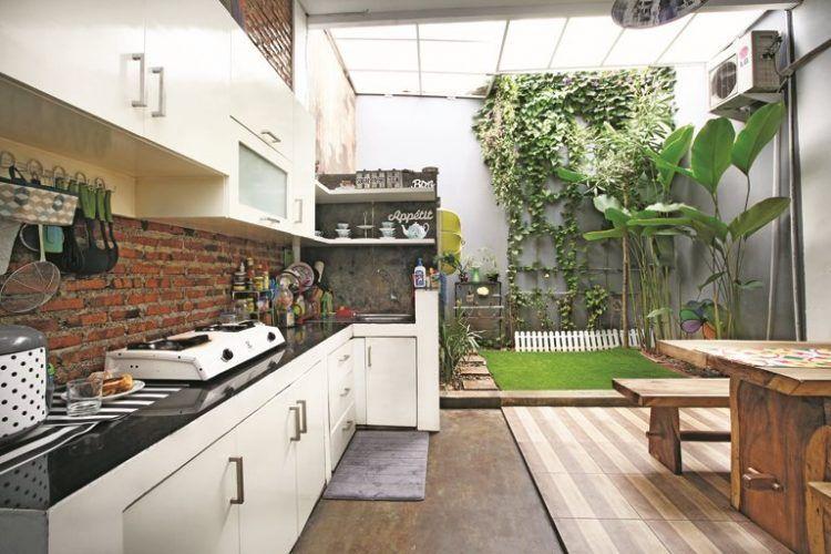 20 Desain Dapur Terbuka Di Halaman Belakang Renovasi Rumah Net Dapur Luar Ruangan Rumah Model Dapur
