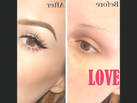 easy brow tutorial for beginners 2019  youtube  brow