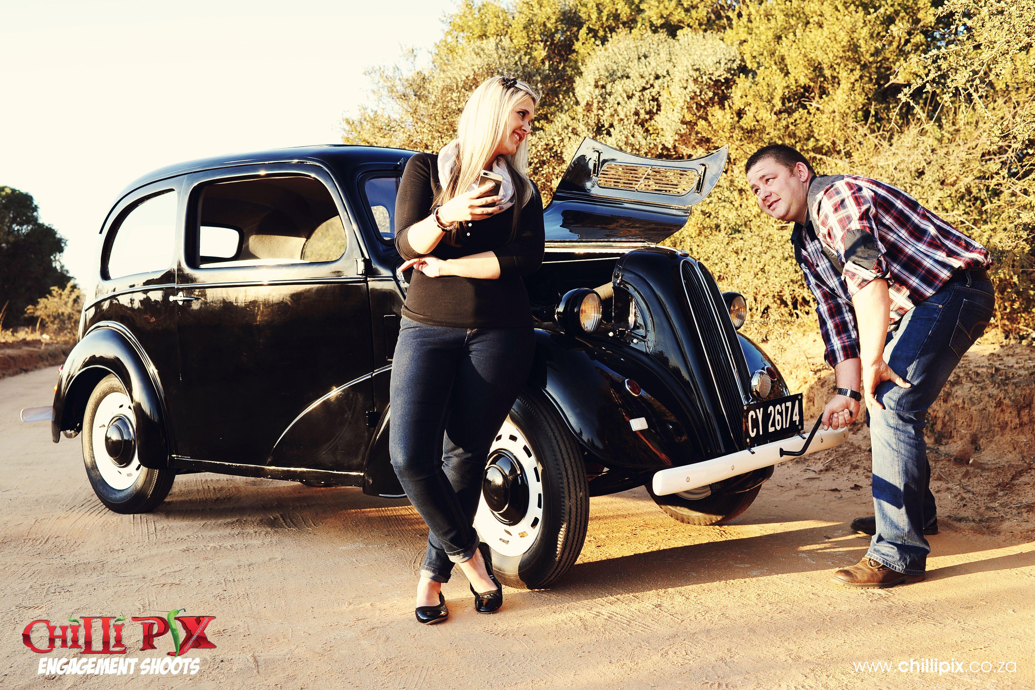 ChilliPix Engagement Photos, Classic Car Photos, Engagement Photos ...