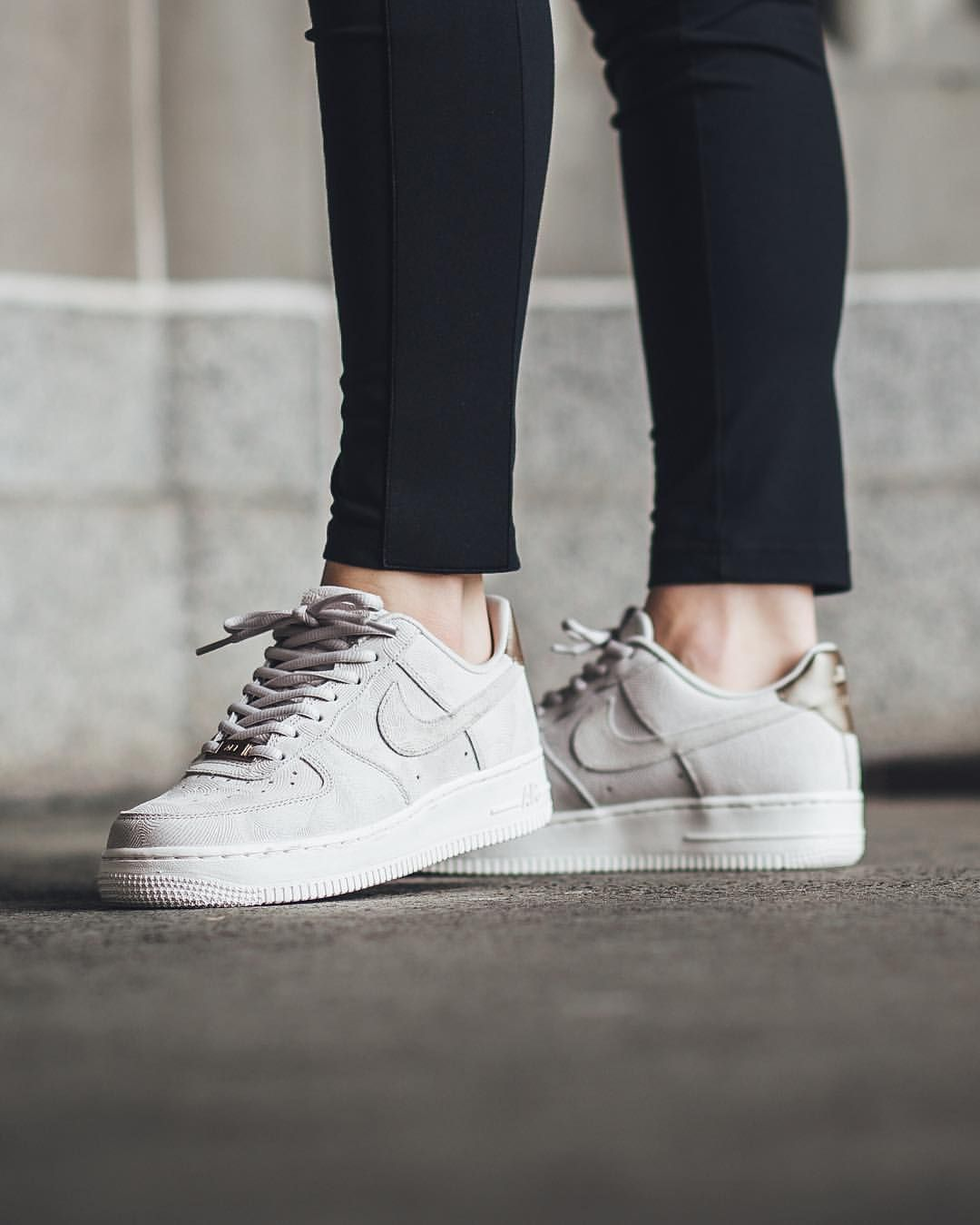 "size 40 0df93 a6e16 Titolo Sneaker Boutique on Instagram  ""NEW IN! Nike Wmns Air Force 1  07  Premium Suede - Gamma Grey Gamma Grey available now in-store and online   titoloshop ..."