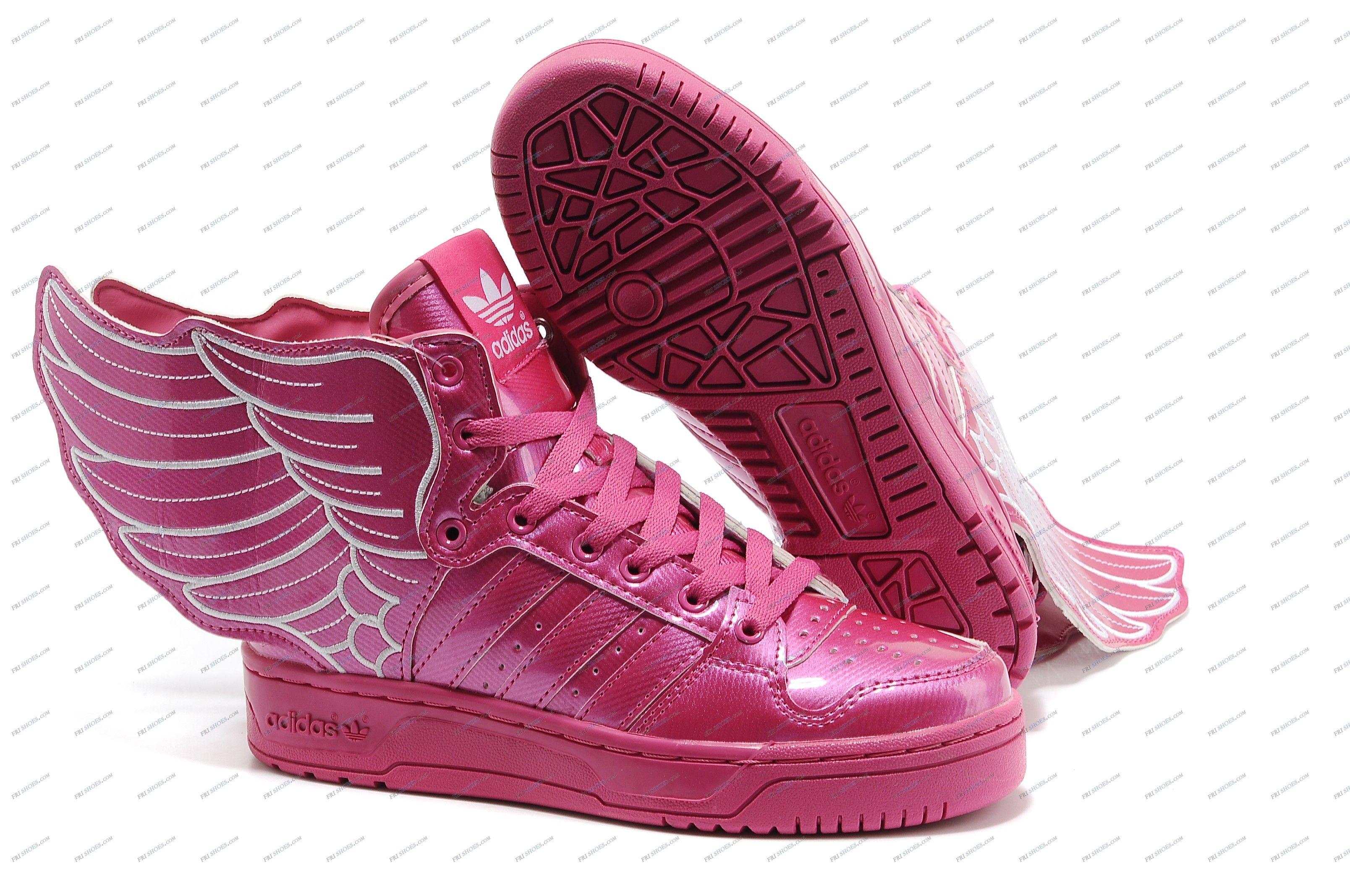Adidas Originals Jeremy Scott x 2NE1 JS Wings Pink Women's Running Shoes  sports shoes online