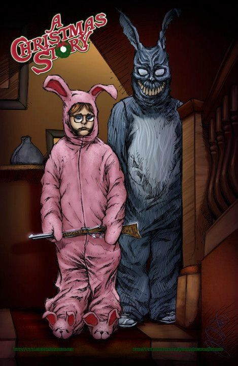 Ralphie and Frank from the movie \