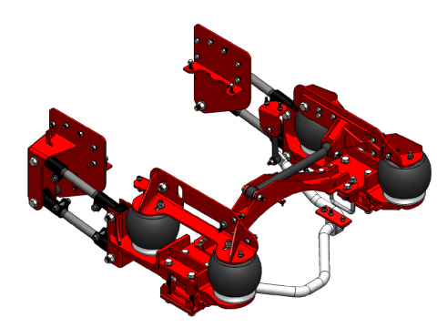 Kelderman Range rover evoque, Lift kits, 4x4 camper van