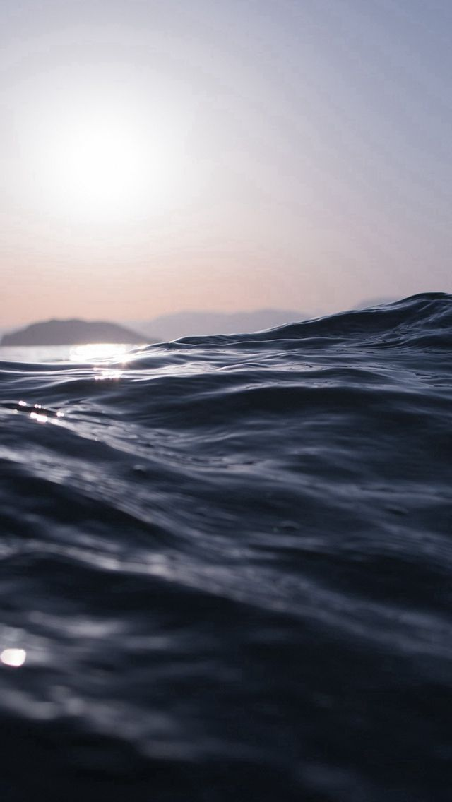 Sea Dive Wave Dark Summer Ocean Nature Iphone 5s Wallpaper