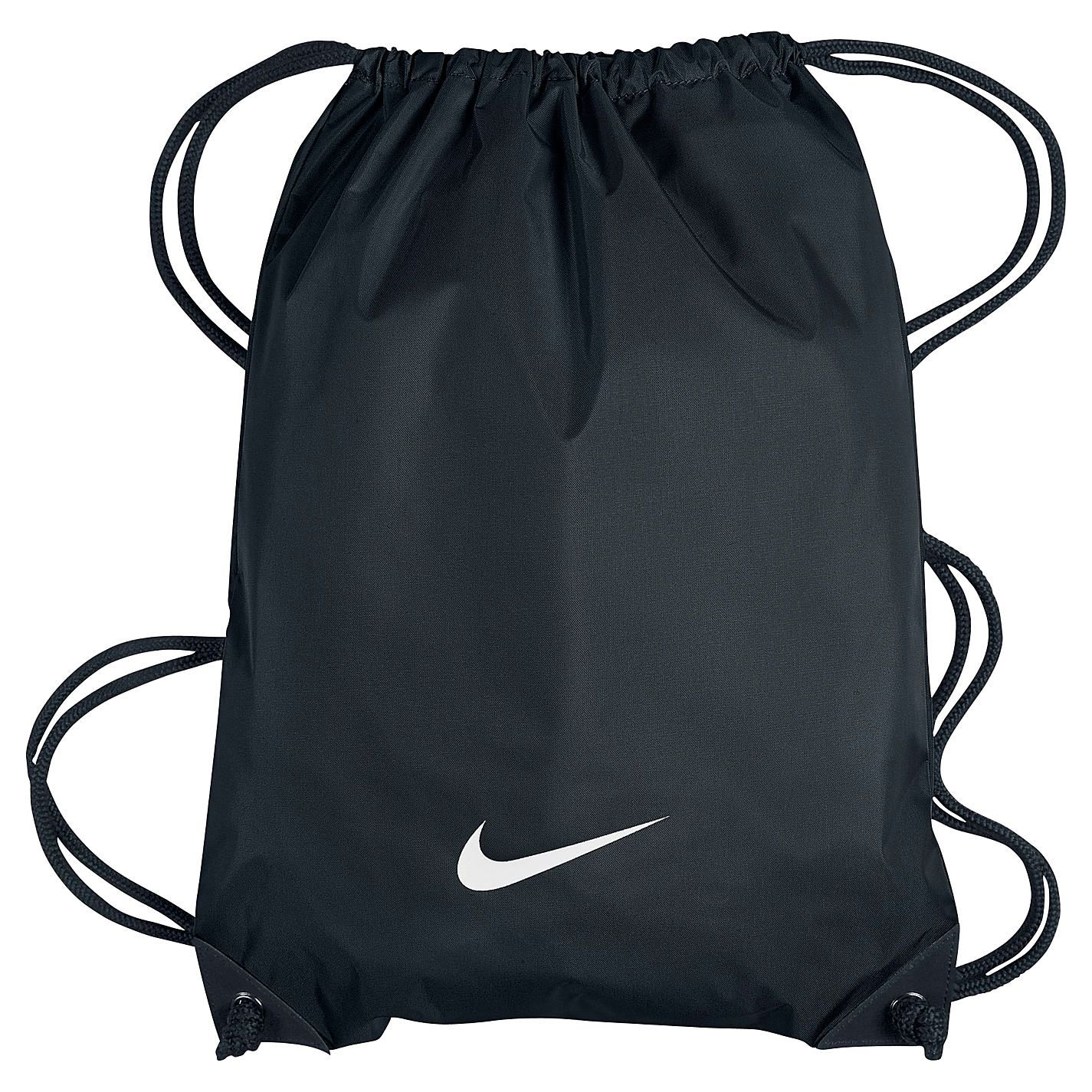 Nike Men's Fundamentals Swoosh Gym Sack - Navy, Size One
