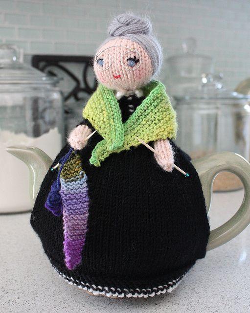 aniexma 39 s tea cosy th i res tricot et crochet. Black Bedroom Furniture Sets. Home Design Ideas
