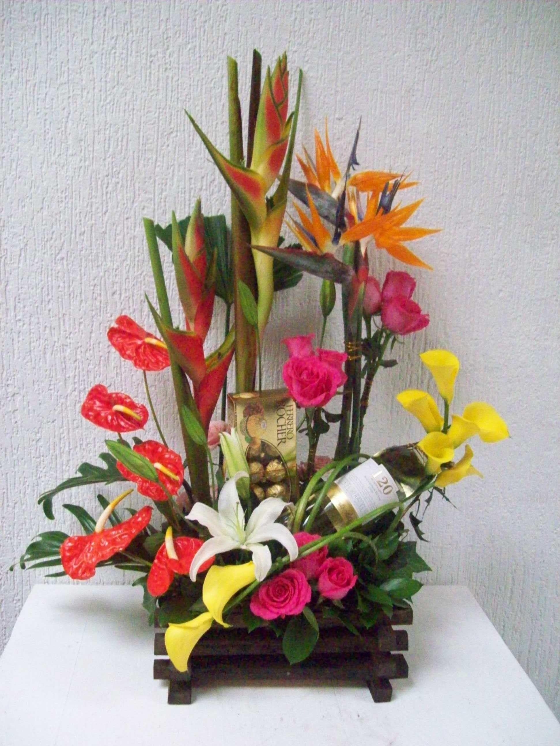 Pin De Alejandra En Arreglos Arreglos Florales Arreglos
