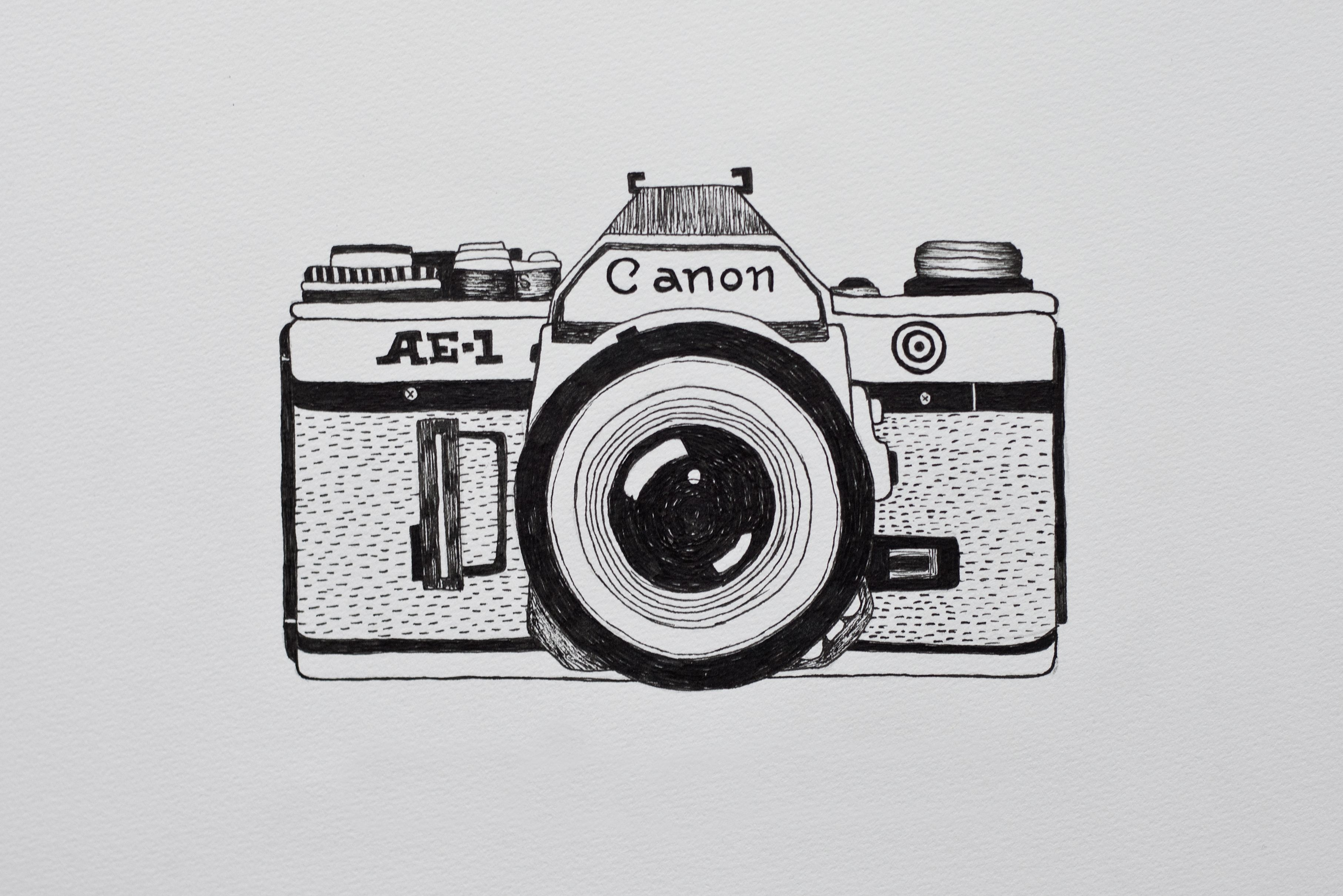 It's just an image of Crazy Canon Camera Drawing