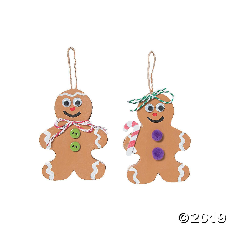 Diy Papier Mache Gingerbread Ornaments