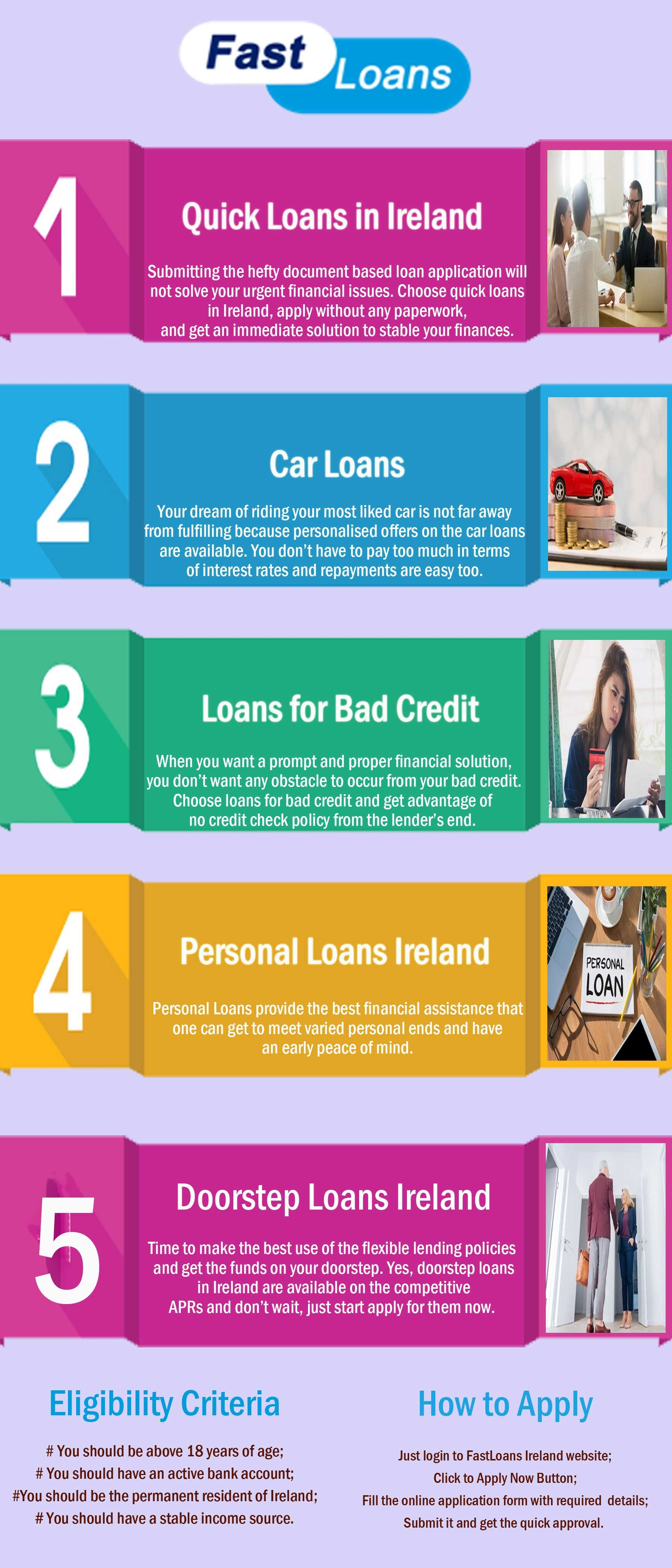 Creditsfirst Ireland Is Eager To Fulfil Your Every Financial Wish Whether You Want To Purchase A New Car O Loans For Bad Credit Personal Loans Bad Credit Score