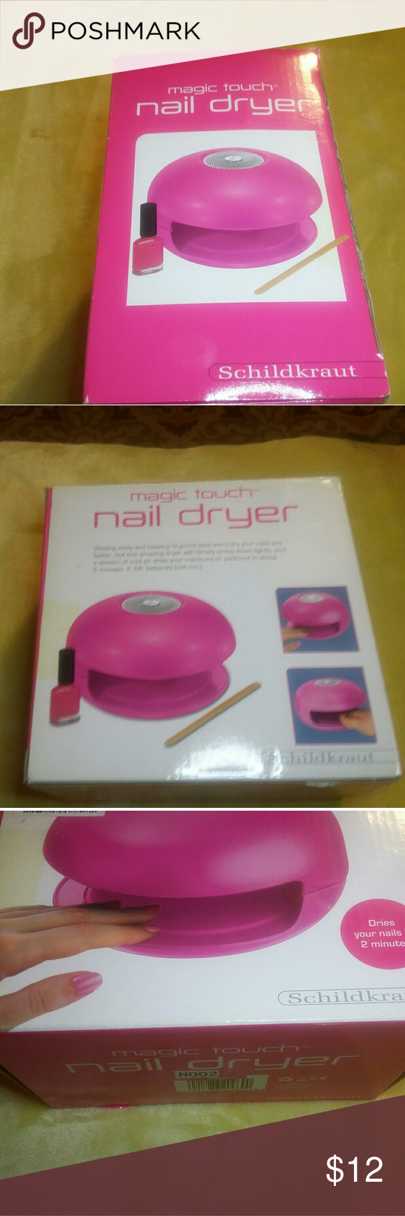 2 mins Magic touch Nail dryer NWT | Nail drying, Customer support ...