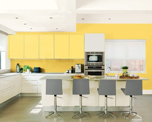 Color of the Month, May 2016: Buttercup | Kitchens, Walls and ...