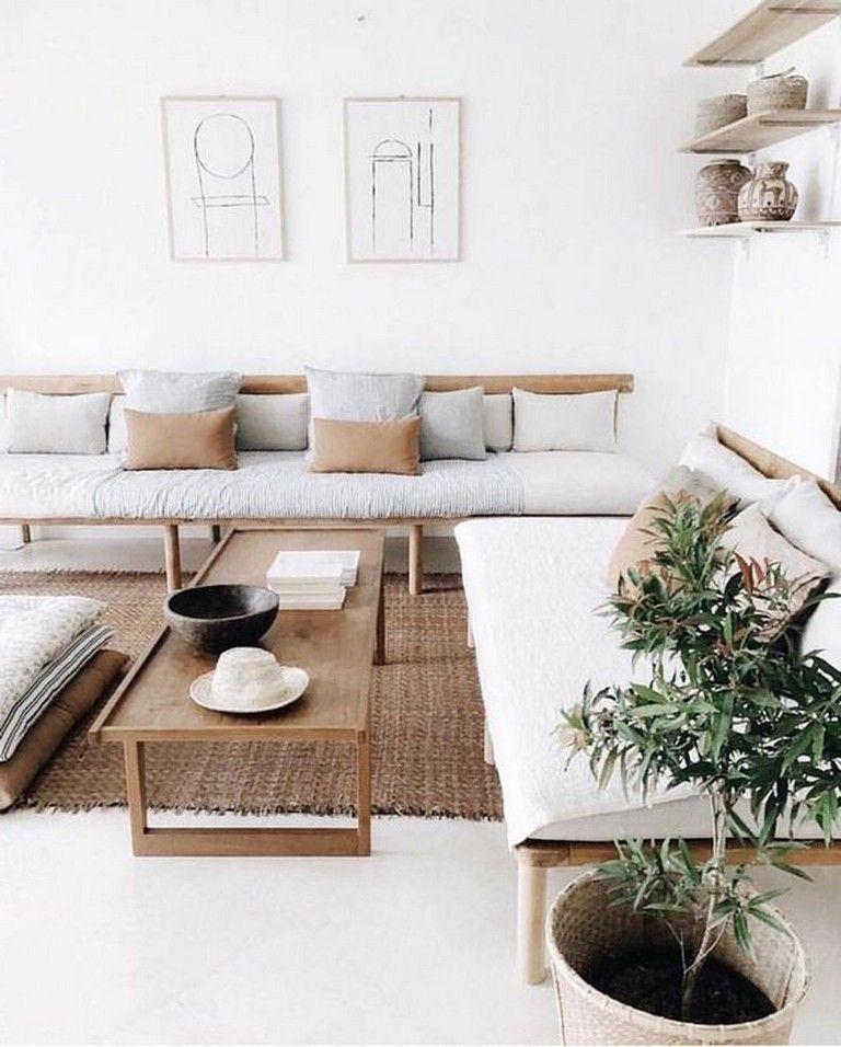 38 Marvelous Modern Minimalist Home Decor Ideas Page 15 Of 40 Zen Living Rooms Modern Minimalist Living Room Stylish Living Room