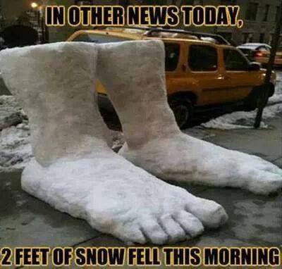 2 feet of snow :)