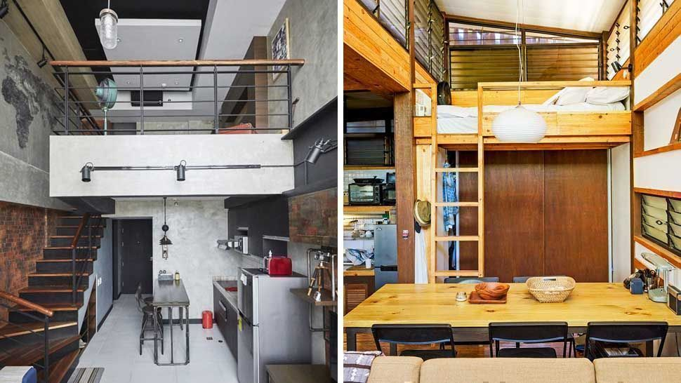 9 Amazing Small Space Ideas From Loft Homes Loft House Design Small House Design Loft Loft House