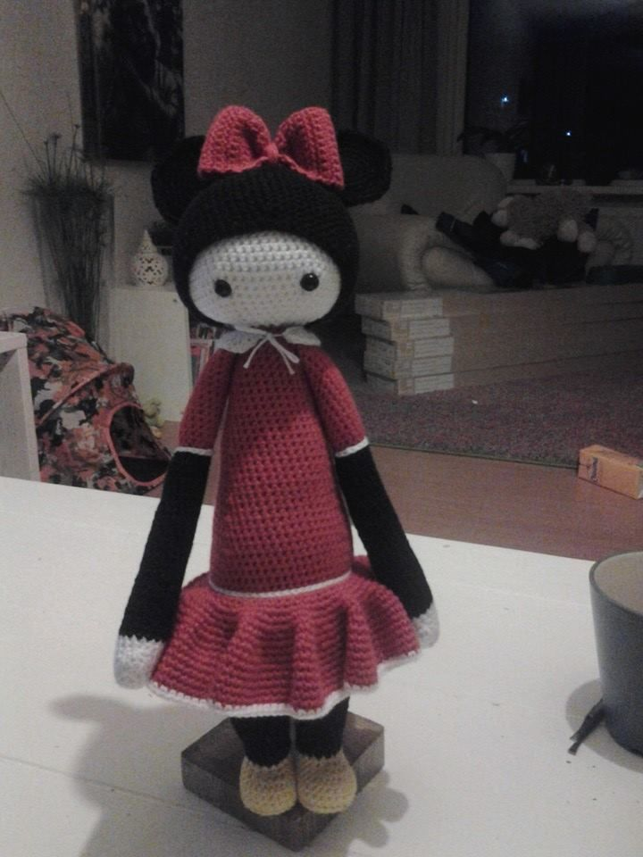 Mini Mouse mod made by Linda Sch. / based on a lalylala crochet ...