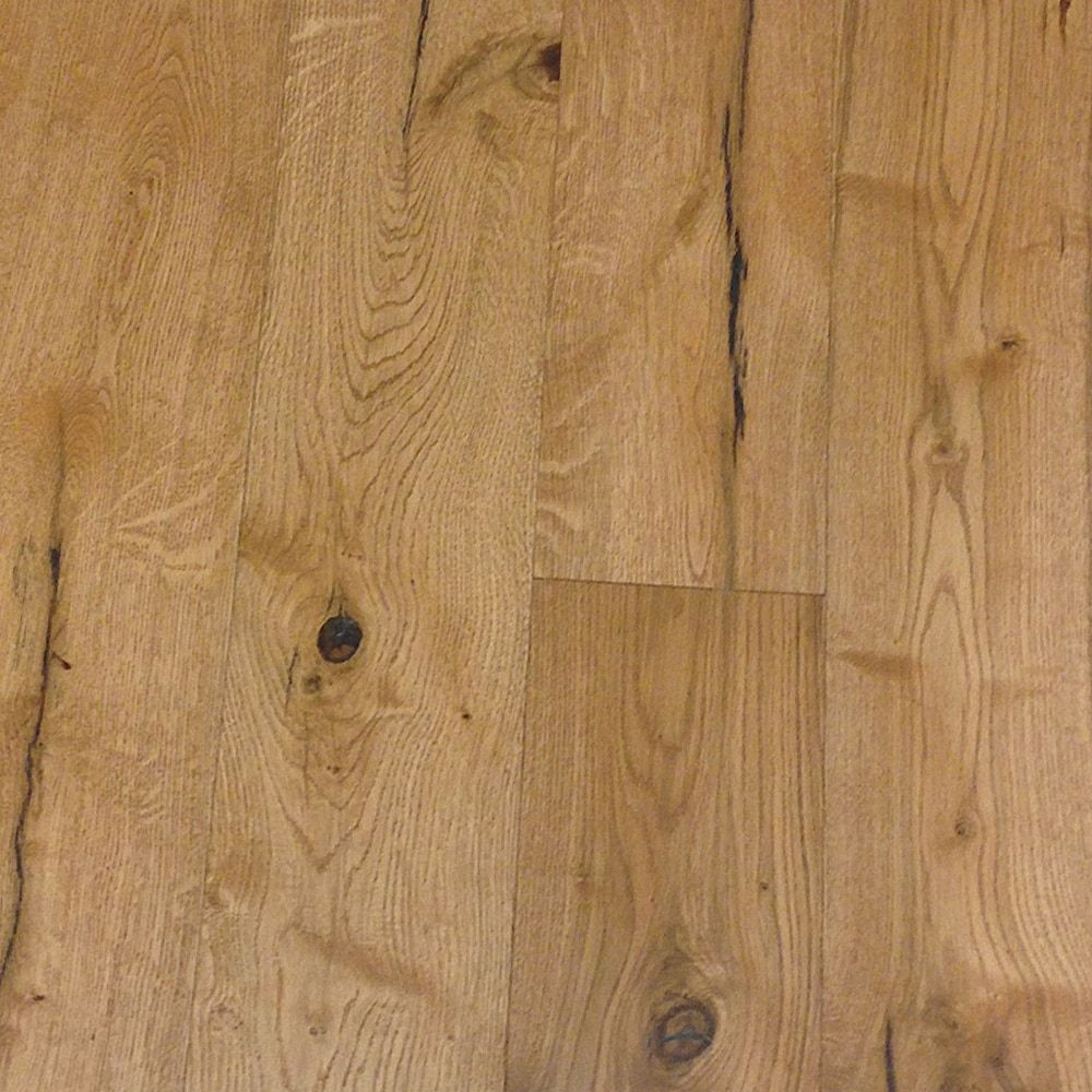 Engineered Hardwood European White Oak Acoustic Natural Rustic 6 1 2
