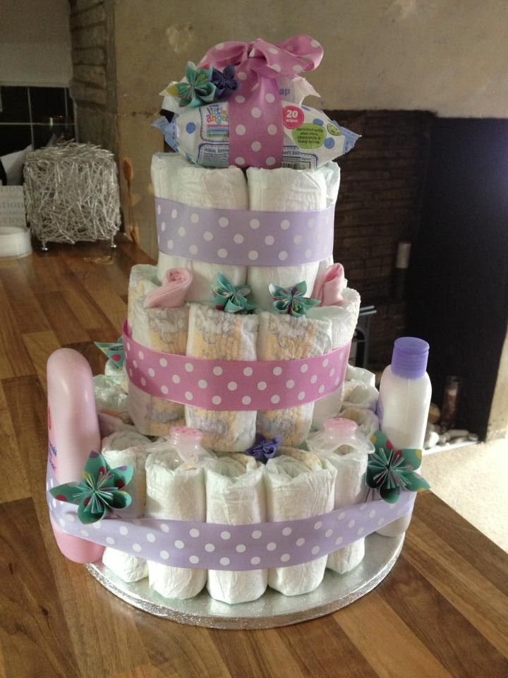 Great nappy cake