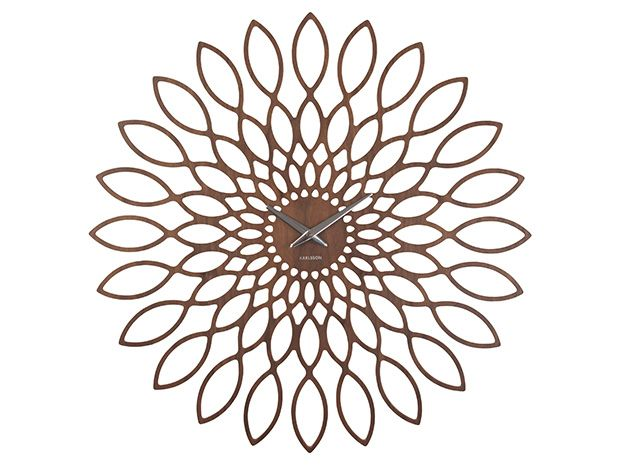 Present Time - Wall clock Sunflower