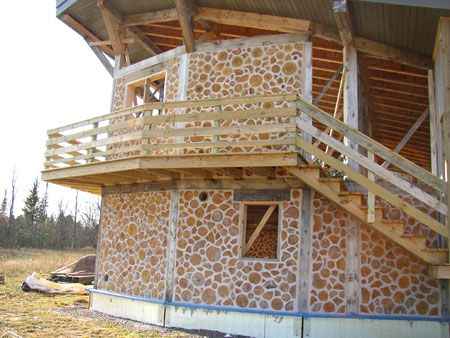 Cordwood House | Cordwood Construction | Nerdwood | Page 2