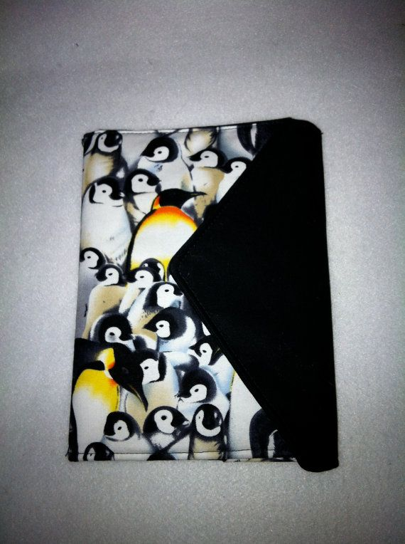 Penguin Book Phone Cover : Kindle cover nook book style ereader case