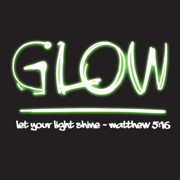 Youth Pastor Church Nite: Christian Glow T-Shirt, Glow In The Dark Ink On This