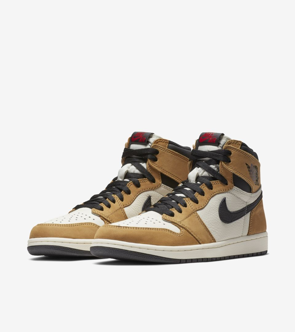 Air Jordan I 1 High Retro Rookie Of The Year Golden Harvest
