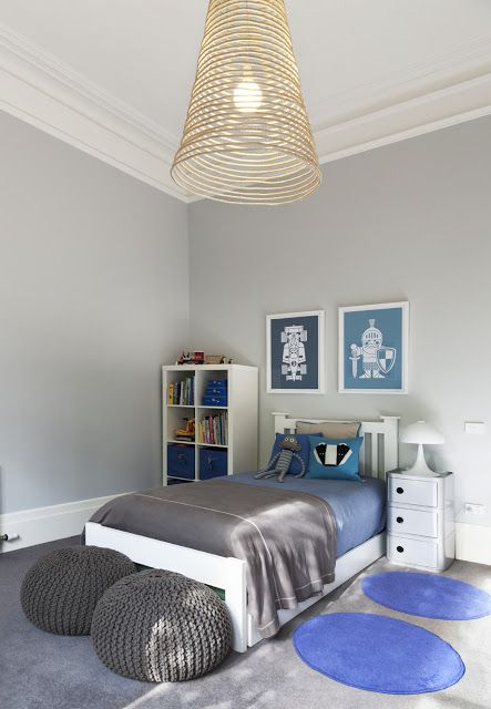 The Blue Knight Stylish Kids Room Grey Boys Rooms Room