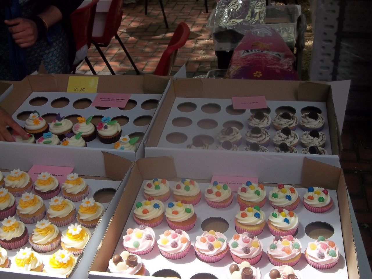 Cake Stall Presentation With Images Bake Sale Displays Cake