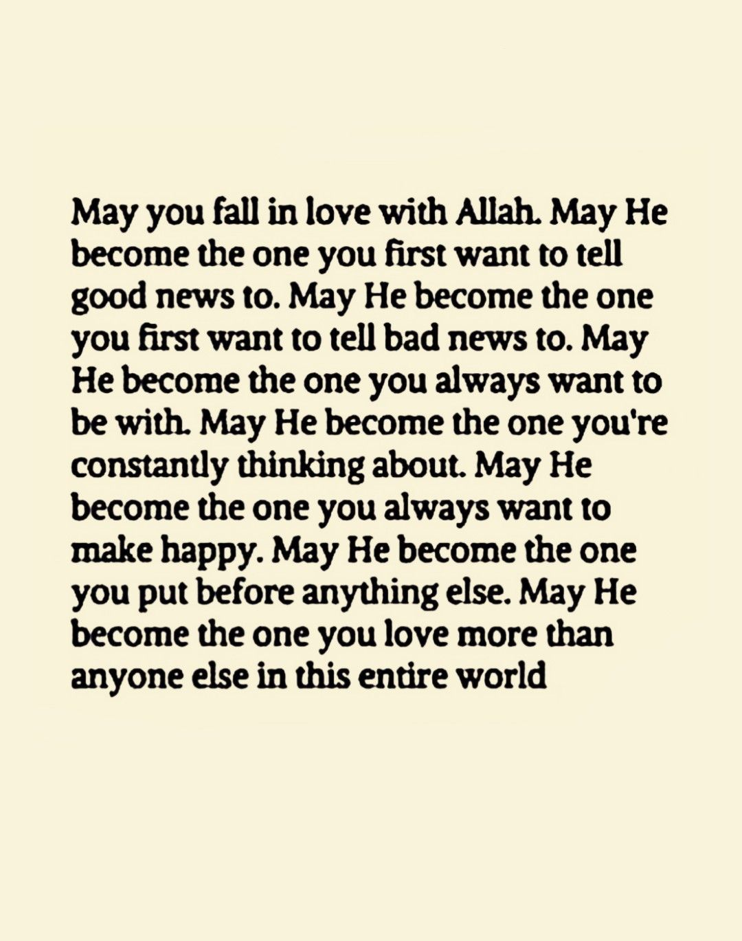 May You Fall In Love With Allah Aameen Islamic Love Quotes Islamic Inspirational Quotes Islamic Quotes
