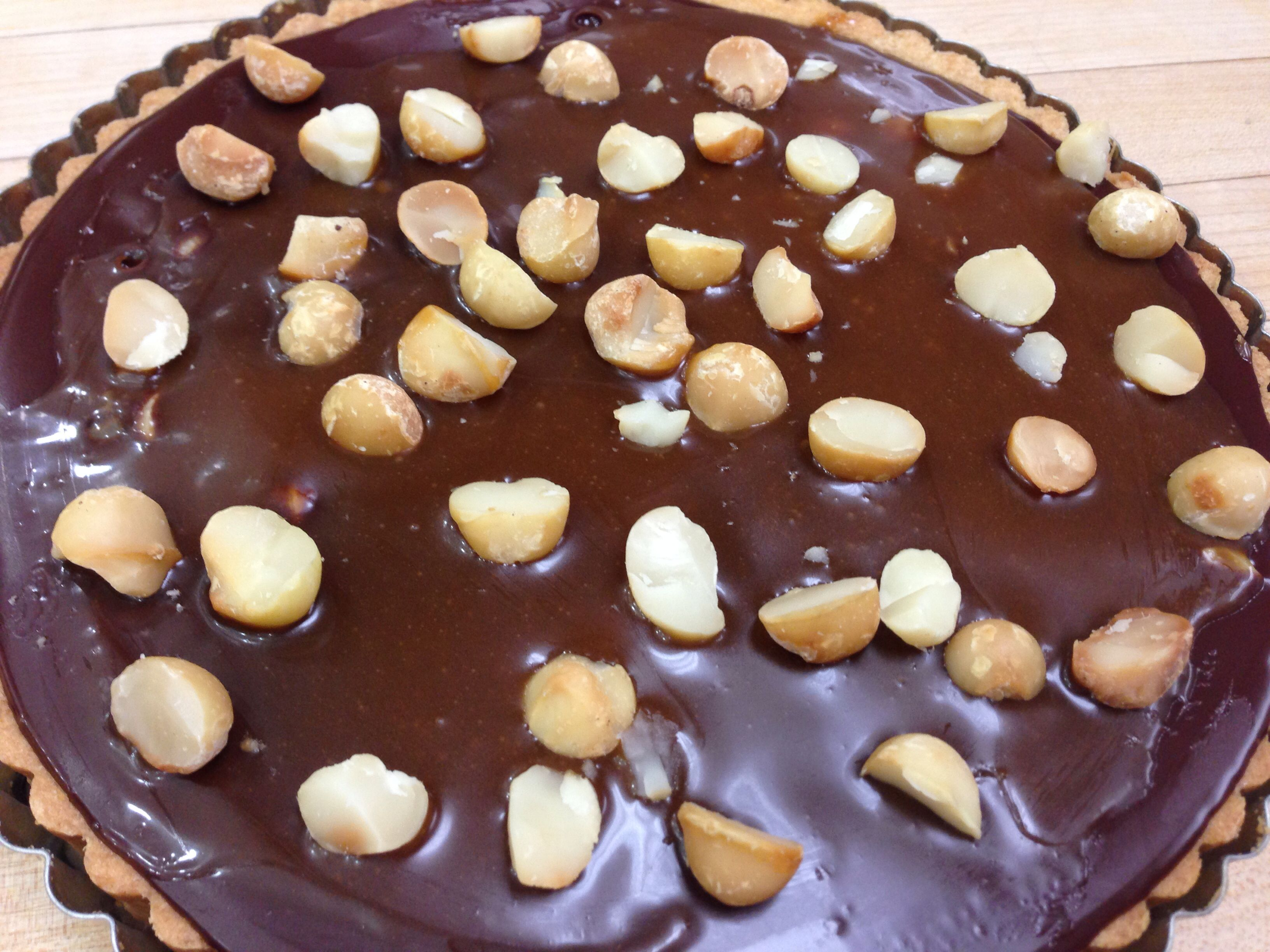 Chocolate macadamia nut caramel tart | The Culinary Institute of Amer ...