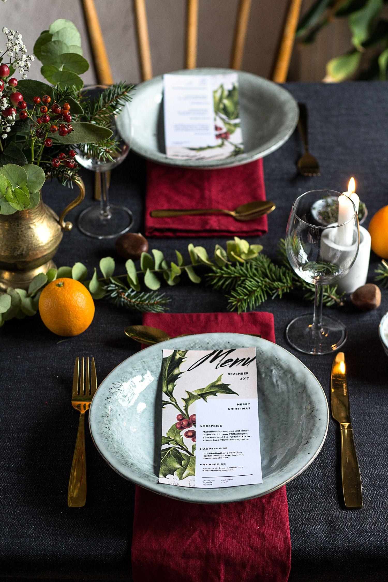 Veganes Weihnachtsmenü.Glutenfreie Kürbis Ravioli Ohne Eier Vegan