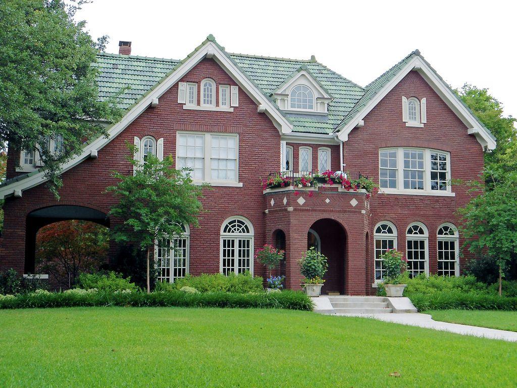 этой статье красивые дома из красного кирпича фото зависимости сорта