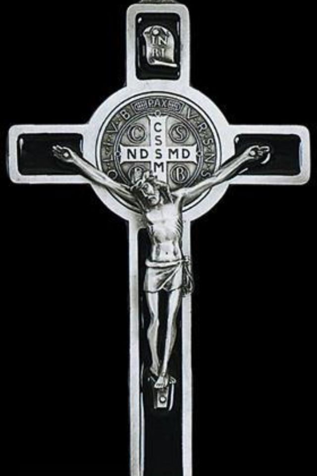 665befd95 Crux Sancti Patris Benedicti , that's routinely used when assaulted by  evil. The Cross of Eternal Salvation