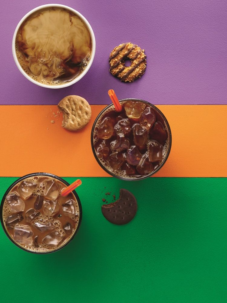 Girl Scout Cookie-Flavored Coffee At Dunkin' Donuts Comes ...