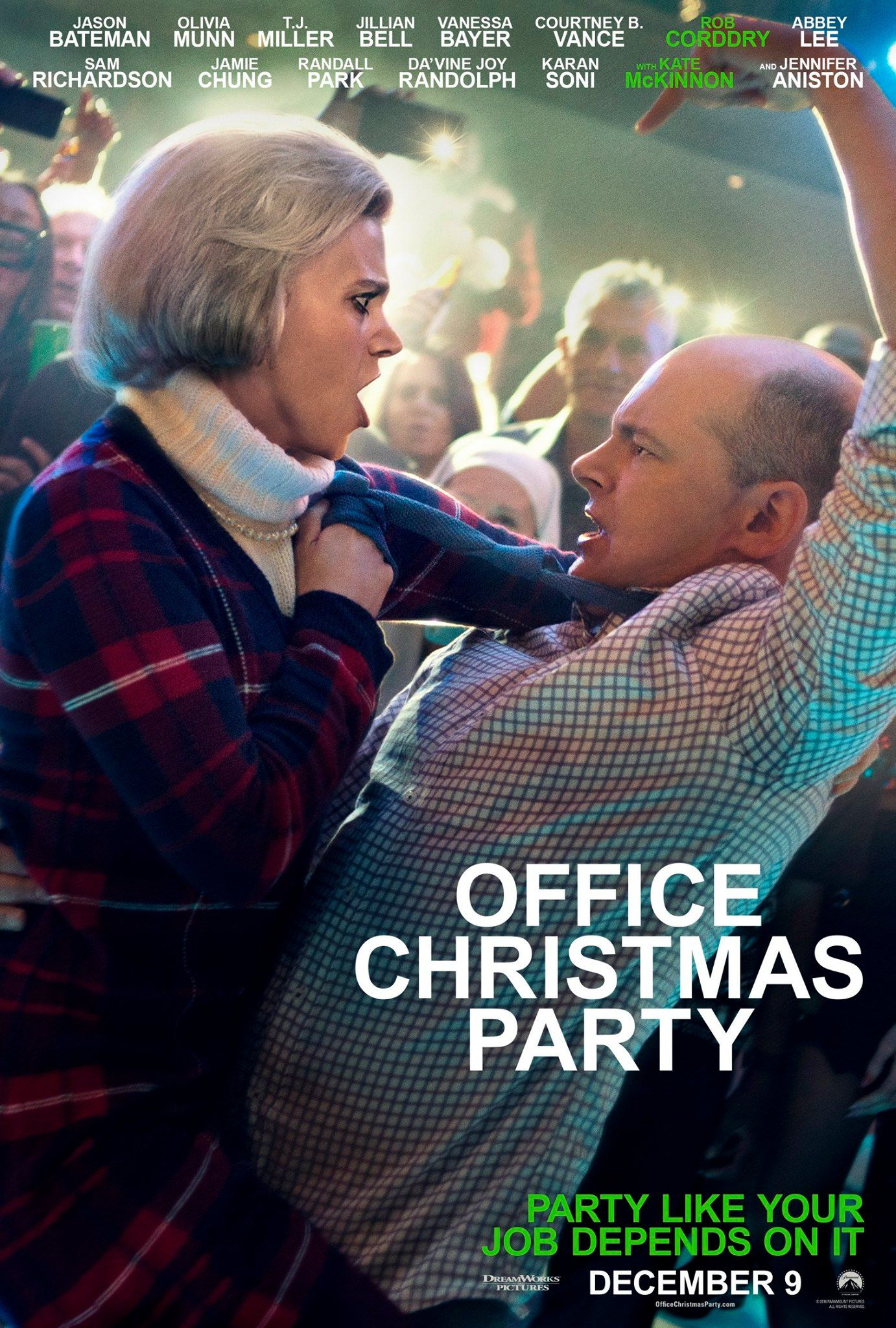 Deck the dance floor with boughs of holly. OFFICE CHRISTMAS PARTY is ...