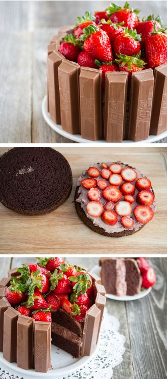 Kit Kat Cake Tutorial kit kat cake recipe httpthecakebar